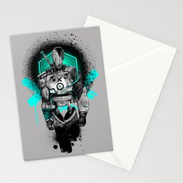 Elektrik Sun Stationery Cards