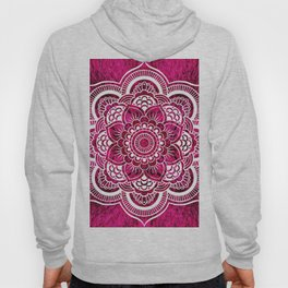 Mandala Hot Pink Colorburst Hoody