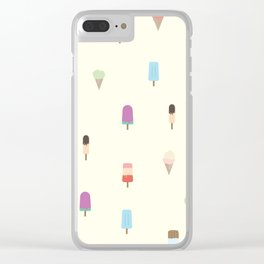 Fresh Popsicles Clear iPhone Case