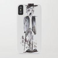 chaplin iPhone & iPod Cases featuring CHAPLIN by ranerrim