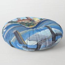 Pearl of the Baltics Floor Pillow