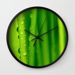 Green grass  32 Wall Clock