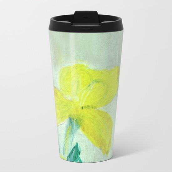 Sunny iris 5 Metal Travel Mug