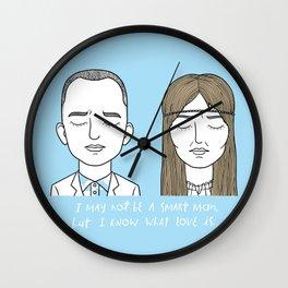 F & J Wall Clock