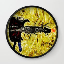 ROCK AND ROLL - 017 Wall Clock