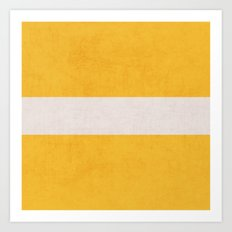 yellow classic Art Print