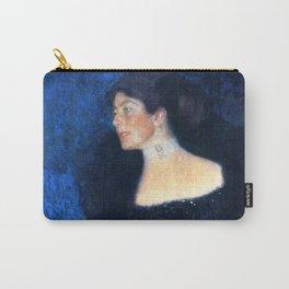 "Gustav Klimt ""Portrait of Rose von Rosthorn-Friedmann"" Carry-All Pouch"