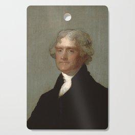 Thomas Jefferson Painting Cutting Board
