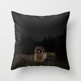Day Nocturna Throw Pillow