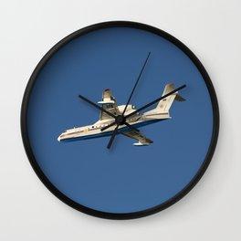 Firefighting plane Wall Clock