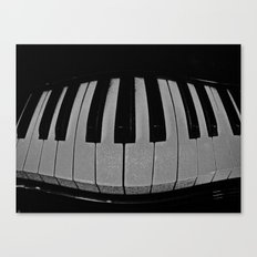 So When the Music's Over Canvas Print