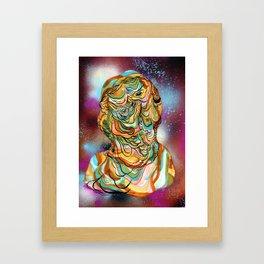 space ooze Framed Art Print