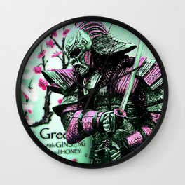Arizona Samurai Aesthetics Wall Clock