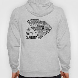 South Carolina Map  Hoody