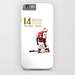 Thierry henry - The invincibles iPhone Case