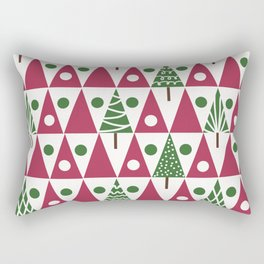 Christmas. Tree . Rectangular Pillow