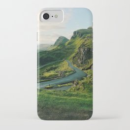 The Quiraing in Isle of Skye, Scotland iPhone Case