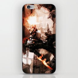 Taking Earth Back iPhone Skin