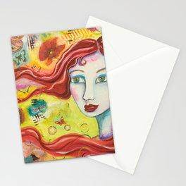 Brigid - Gold Lotus Oracle Series Stationery Cards