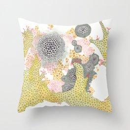Geometric Reef Throw Pillow