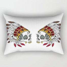 Geronimo's Head Rectangular Pillow