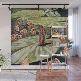 """""""Thumbelina"""" by Charles Robinson Wall Mural"""