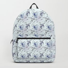 Flight of the Self Mutilating Parrots Backpack