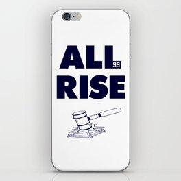 ALL RISE! Aaron Judge Yankees iPhone Skin