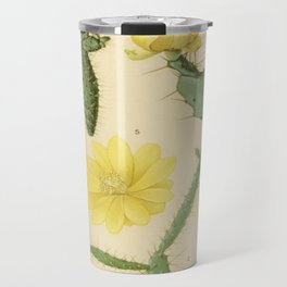 Botanical Cacti Travel Mug