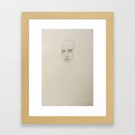 + STAY +  Framed Art Print