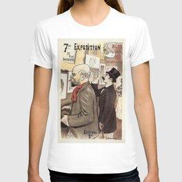December 1894 7th Salon des 100 Art Expo Paris France T-shirt