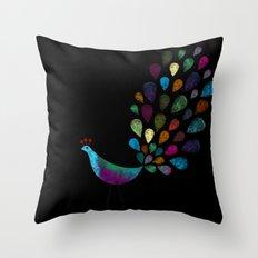 color 6 Throw Pillow