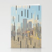 dallas Stationery Cards featuring Dallas by Calepotts