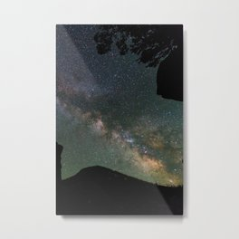Galaxy Gazing Metal Print