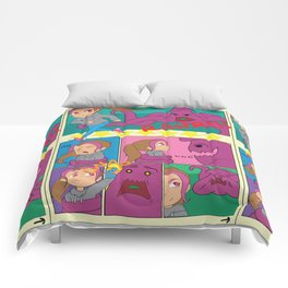 Comic Squid Comforters