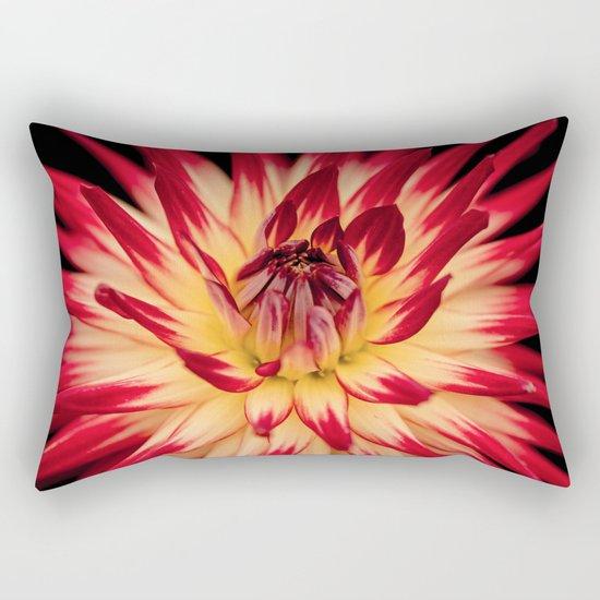 Flower red Rectangular Pillow