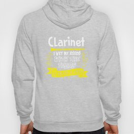 Clarinet Instrument Clarinetist Gift Marching Band Hoody