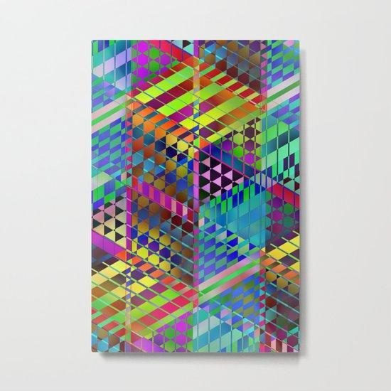 Geometric 2 Metal Print
