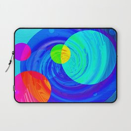 Re-Created Twisters No. 12 by Robert S. Lee Laptop Sleeve