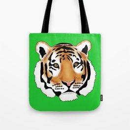 Pop Art Tiger Tote Bag