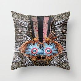 Antipodean Flotsam Throw Pillow
