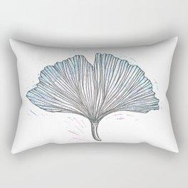 Gingko Leaf Rectangular Pillow