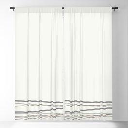 Metropolitan Light Gray, Cinder Dark Gray, Mustang Brown 2111-30 Scribble Lines Snowfall White Blackout Curtain