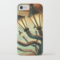 drunk iPhone & iPod Cases featuring Drunk Streetlamps by Remus Brailoiu