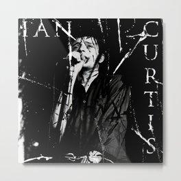 Ian Curtis 'Legend' Metal Print