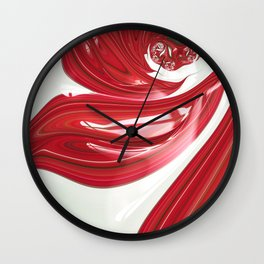 Lipstick Wall Clock