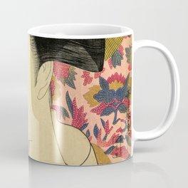 Japanese Art Print - Japanese Woman - Kushi Utamaro Coffee Mug