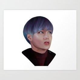 Exo Kai Art Print