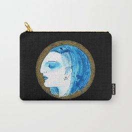 Blue portrait Carry-All Pouch