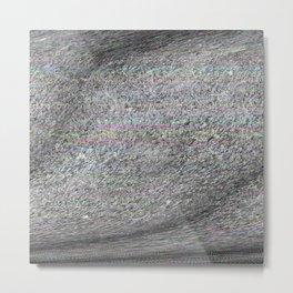 04-22-14 (Grasses Bitmap Glitch) Metal Print